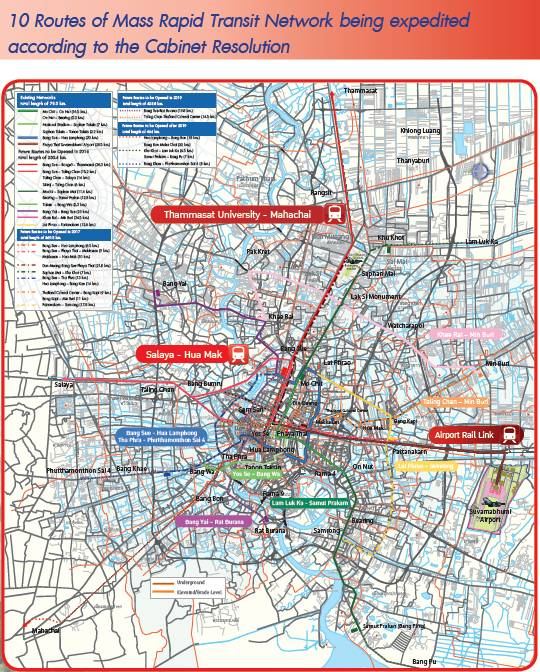 Construction Supervision of Mass Transit System Project in Bangkok